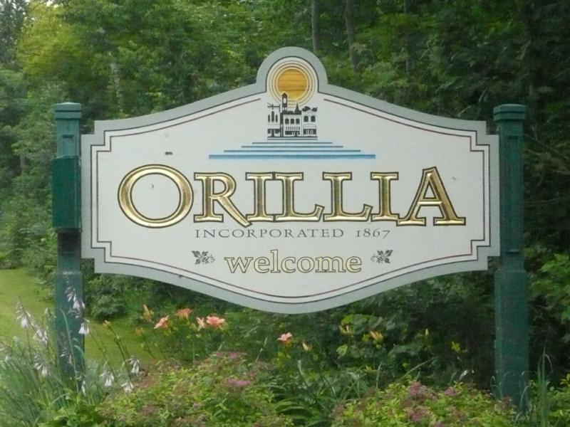 orillia signage