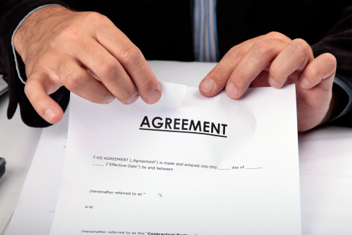 Torn Contract