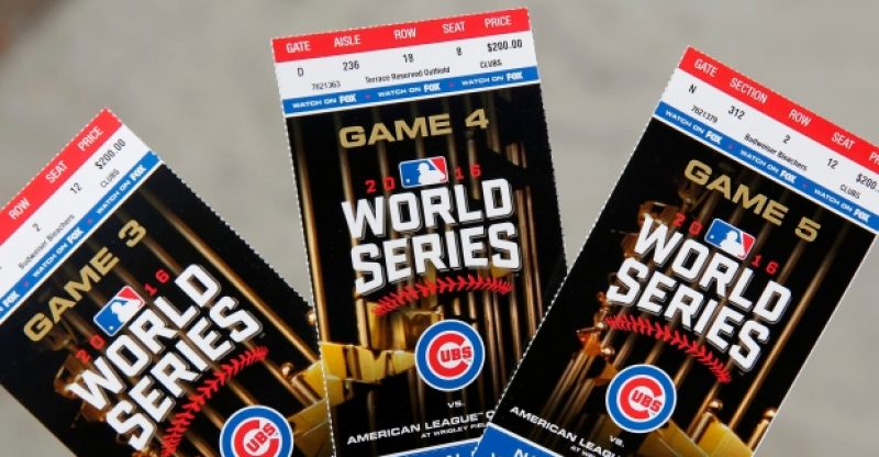 World Series ticket prices