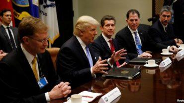Trump is meeting CEO's