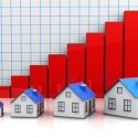 small-model-homes-and-red-graph-increasing